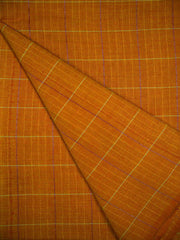 Orange South Cotton Woven Fabric