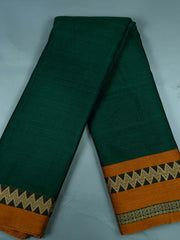Mercerised Handloom Cotton With Two Side Border