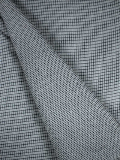 Pre Washed Handloom Checkered Fabric