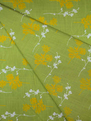 Cotton Flux Printed Fabric