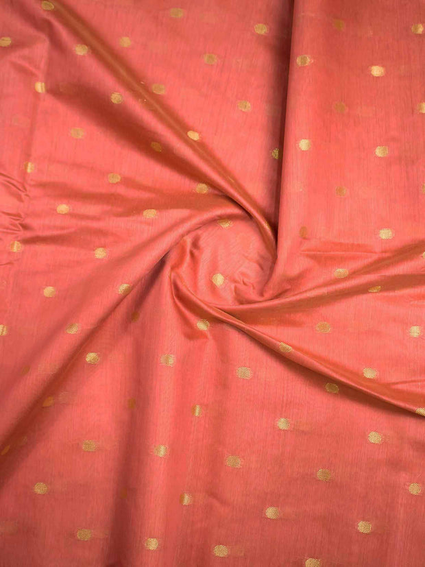 Chanderi Silk Buta Fabric