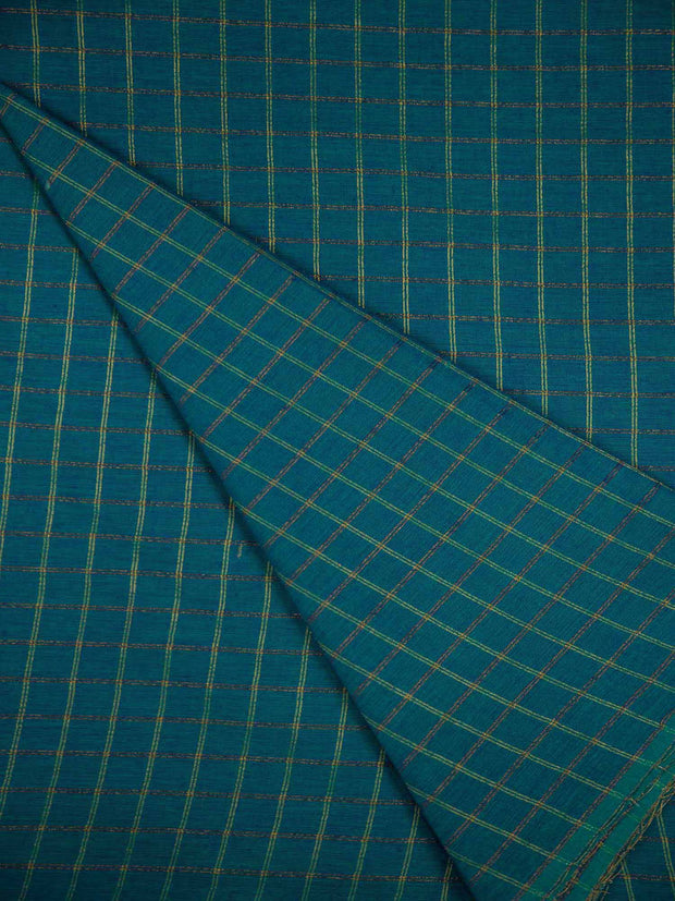 Blue South Cotton Woven Fabric