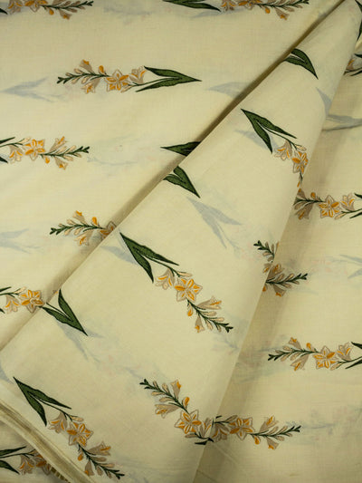 Cotton Block Printed Fabric