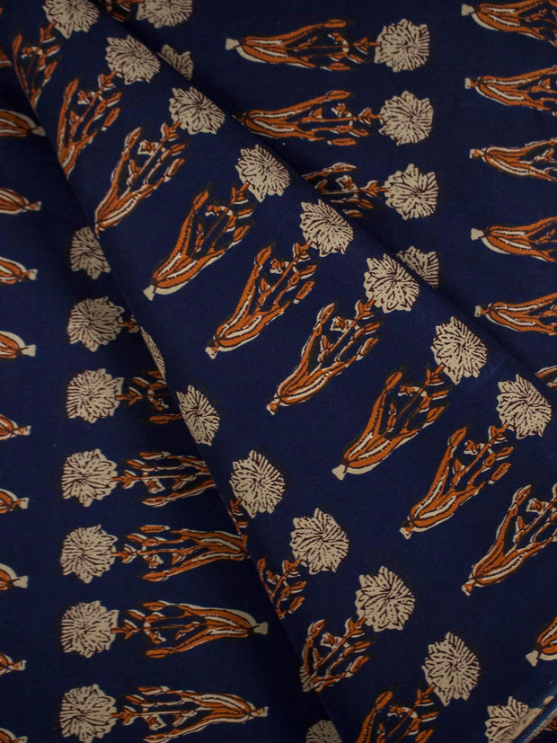 Mughal Cotton Printed Fabric