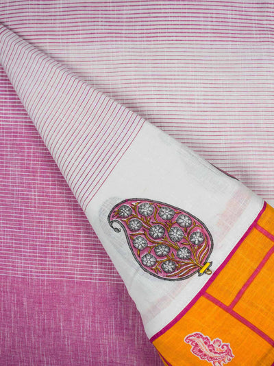 Hand loom Cotton Patchwork Fabric