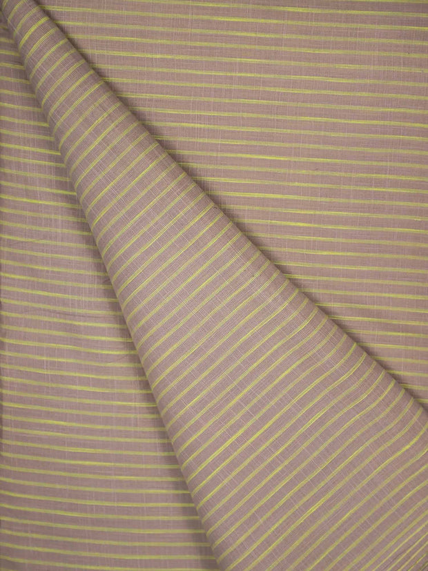 Cotton Striped Fabric(Pre Cut Of 1.5)