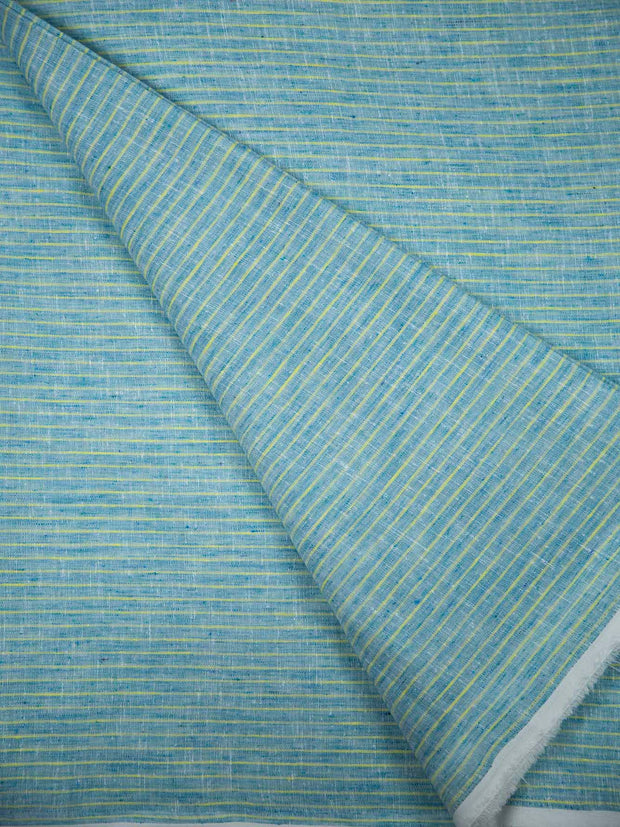 Cotton Linen Striped Fabric ( Width 56' Inchs )
