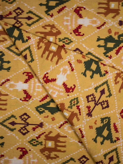 Cotton Patola Printed Fabric