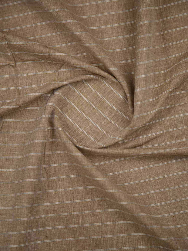 Beige South Cotton Woven Fabric