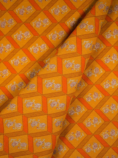 Khadi Block Printed Fabric
