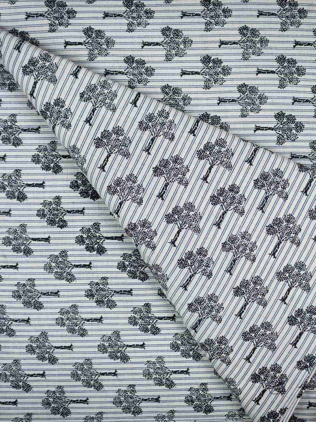 Cotton Hand Block Printed Fabric