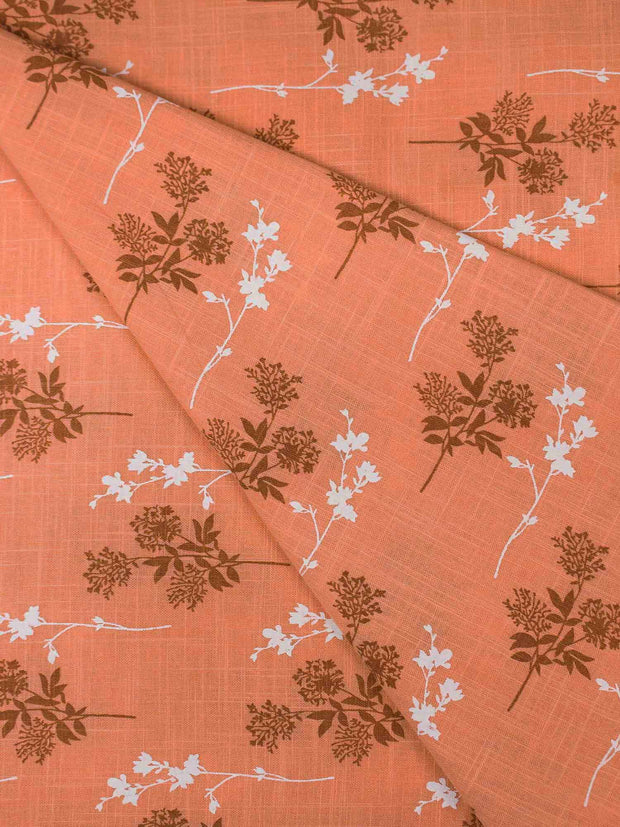 Cotton Printed Fabric ( Pre Cut Of 3.5)