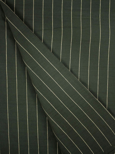 Cotton Khadi Striped Fabric