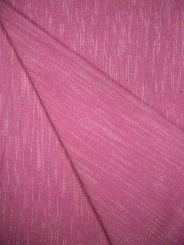 Cotton Slub Plain Fabric