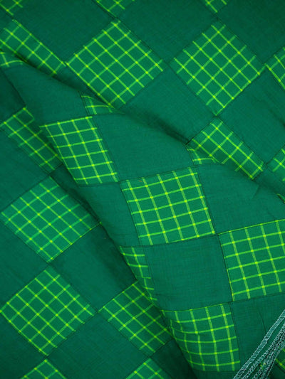 Checkered Patchwork Fabric