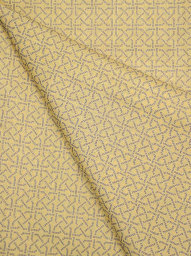 Cotton Silk Printed Fabric