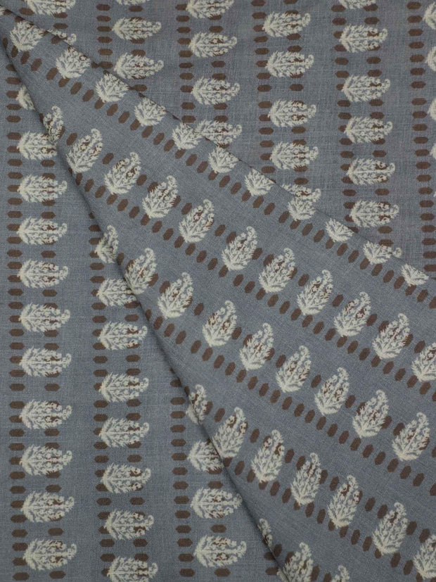 Cotton Slub Digital Printed Fabric