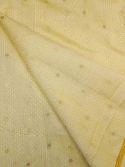 Dyeable Banarasi Gold Silk Butta