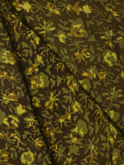 Hand Block - Modal Silk Block Printed Fabric