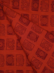 Khadi Cotton Printed Fabric