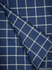 Mercerized Cotton Checkered Fabric