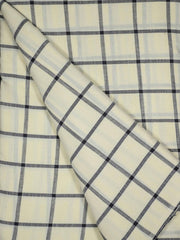 Mercerized Cotton Checkered Fabrics