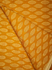 Mercerized Cotton Ikat Fabric