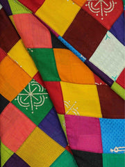 Multi Color Patchwork Fabric