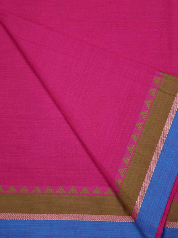 Pre Washed Cotton Fabric With Temple Border
