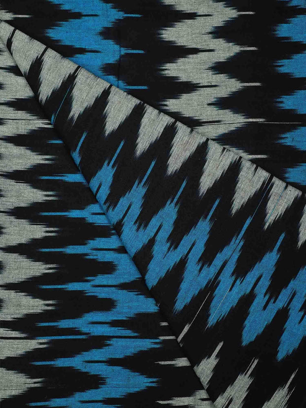 Pre Washed Cotton Ikat Fabric