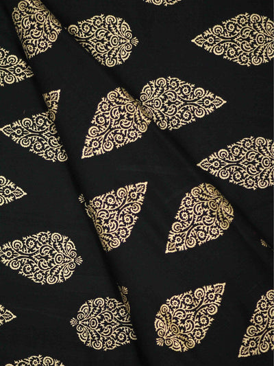 Rayon Block Printed Fabric