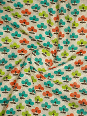 Schiffli Embroidered Cotton Fabric