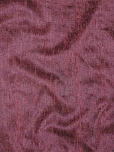 Semi Raw Silk Plain Fabric