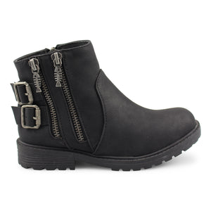 Toddler/Kids Black Bootie