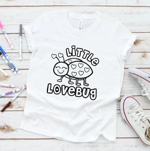 Little Lovebug Color Tee