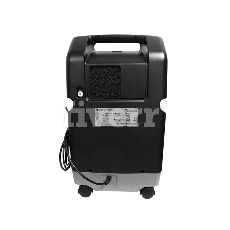 New Drive Devilbiss 1025 10LPM 22PSI Oxygen Concentrator with Low Purity Sensor