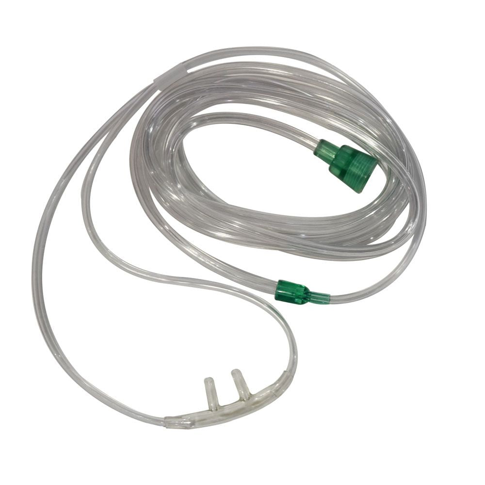 New Oxygen Nasal Cannula with 7 foot Oxygen Hose - Case of 50
