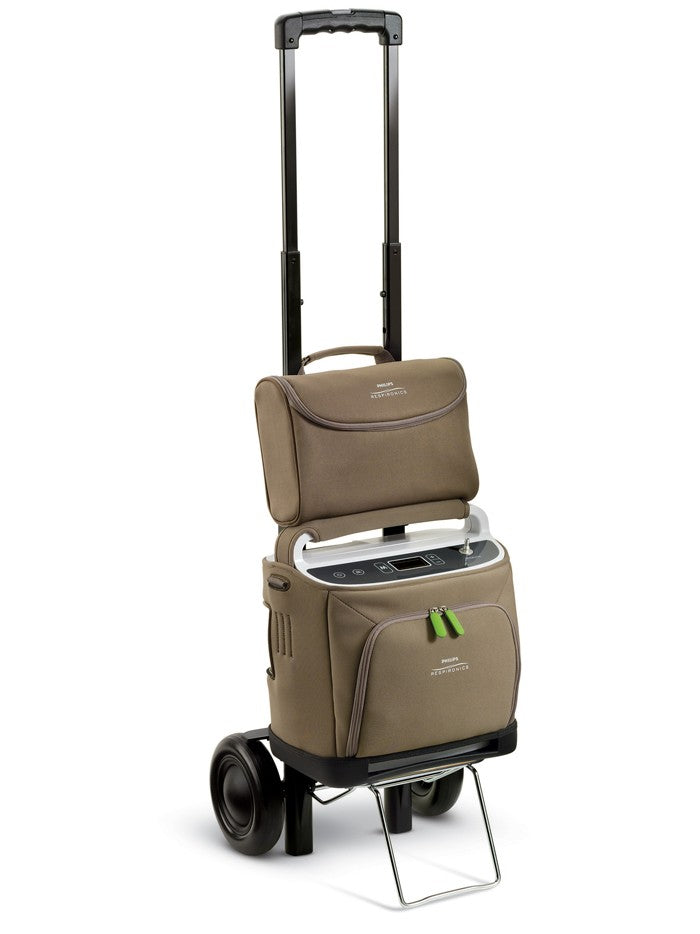 New Respironics SimplyGo Travel Cart