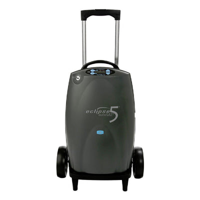 Reconditioned Sequal Eclipse 5 Portable Oxygen Concentrator. 6 Month warranty.