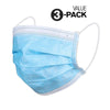 Protective Face Masks (3-Pack)