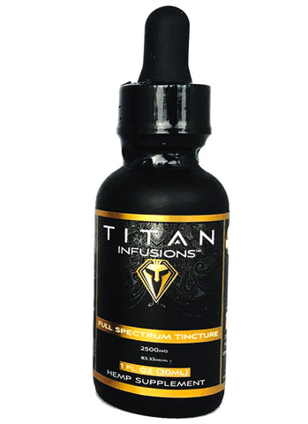 Tincture Oil (2500 mg)