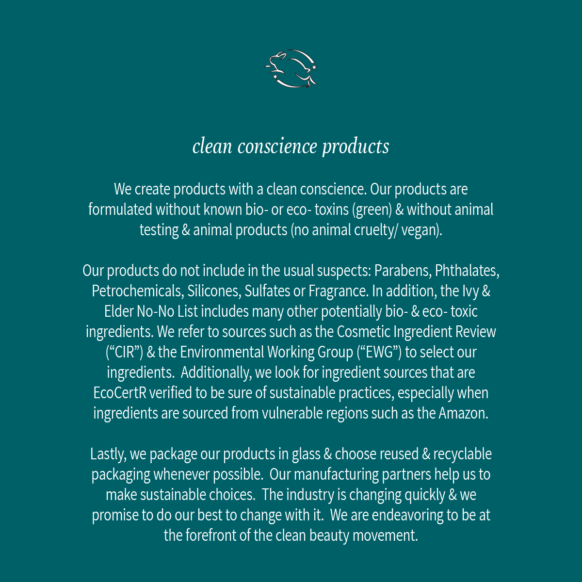 clean conscience products