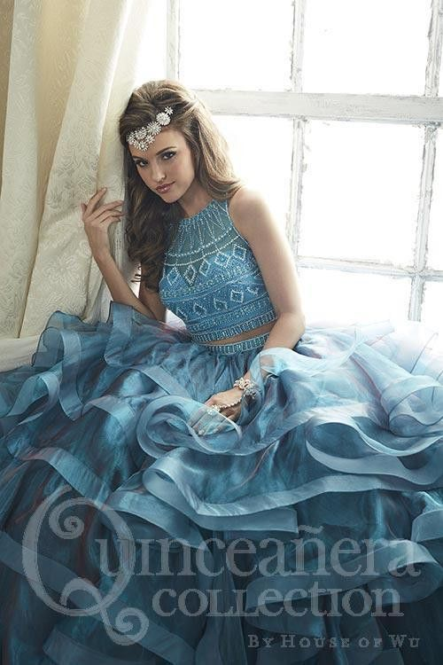 2 piece Prom Dresses,2 Piece Prom Gown,Two Piece Prom Dresses,Prom ...