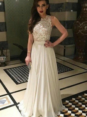 Chiffon Long Prom Dress Elegant Prom Dress Formal Dresses For