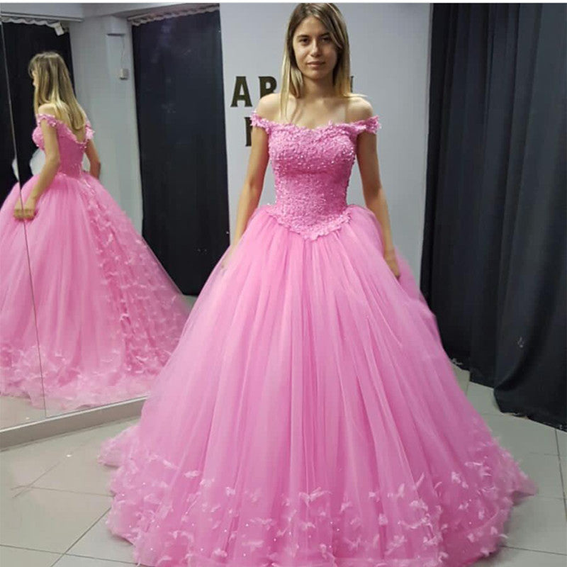Pink Quinceanera Dresses,Ball Gowns Quinceanera Dresses,Sweet 16 ...