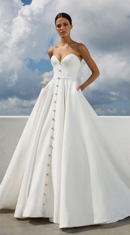 custom made,new fashion,Gorgeous Wedding Gown,Long Evening Prom ...