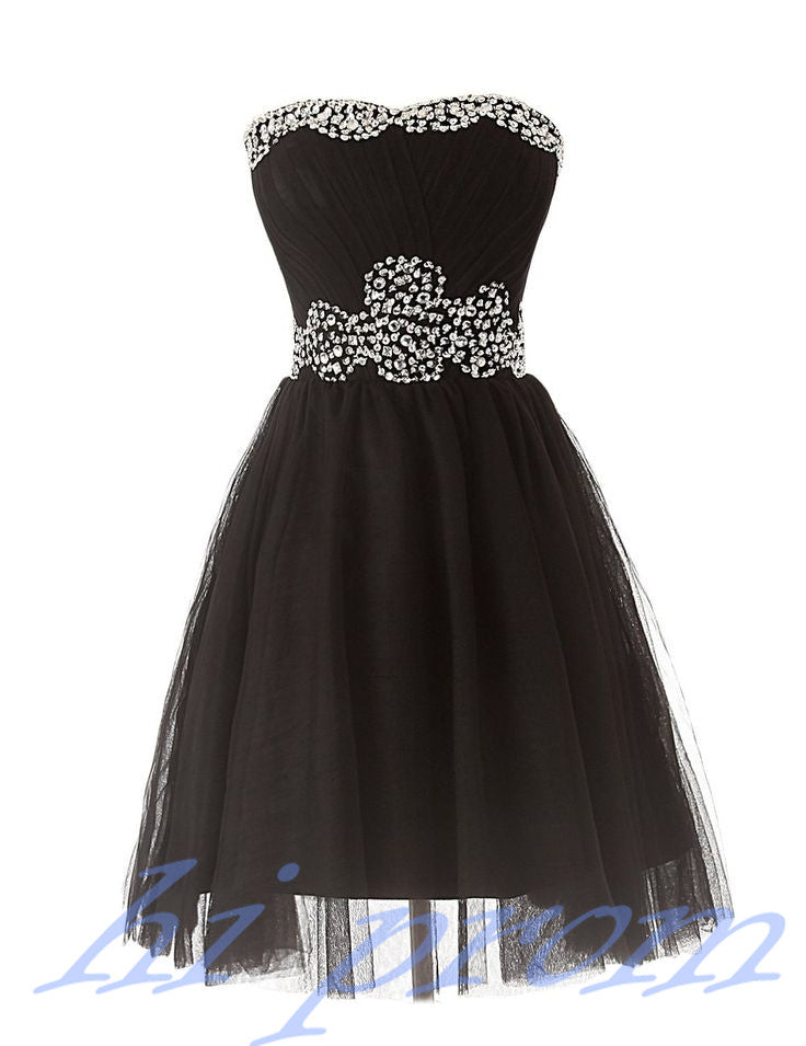 Black Homecoming Dresstulle Homecoming Dresseshomecoming Gowns
