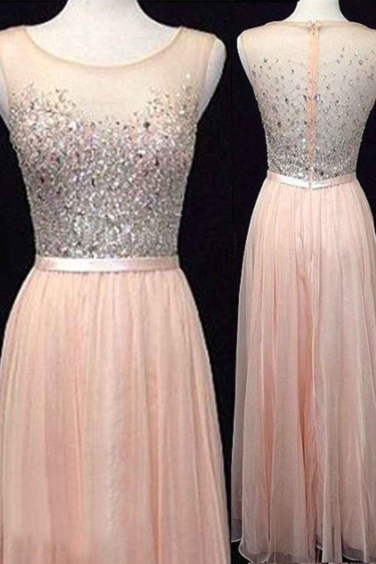 2018 Prom Dresses,Backless Evening Gowns,Light Blush Pink Formal ...