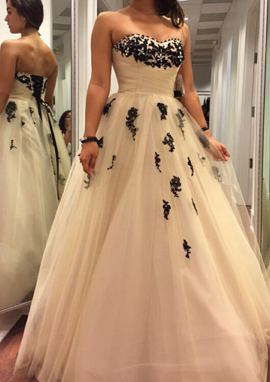 Tulle Prom Dressesprincess Prom Dressball Gown Prom Gownwhite