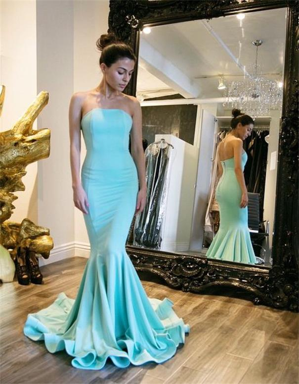 Mint Green Prom Dresses,Evening Gowns,Modest Formal Dresses,Prom ...
